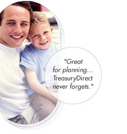 Great for planning gifts. TreasuryDirect never forgets.